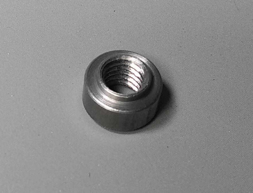 Welding nut for robot